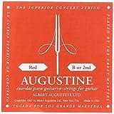 Augustine B2classique Rouge Simple B 2nd Cordes pour Guitare Classique