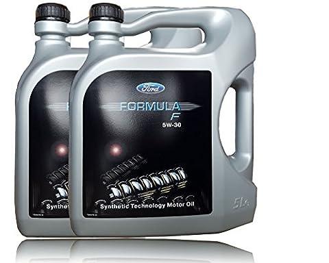 2x 5 Liter (10l) FORD FORMULA F