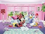 Walt Disney Poster Papier Peint - Daisy Et Minnie, 4 Parties (360 x 255 cm)