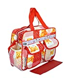 Bey Bee - Mama's Bag {Diaper Bag} (Red)