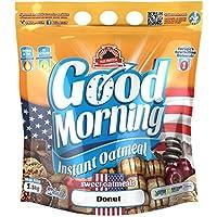 Max Protein - Good Morning Instant Oatmeal, Harina de avena, 1,5kg Donut