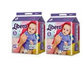 #3: Libero Small Size Open Diaper (60 Count) - Pack Of 2