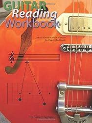 Guitar Reading Workbook by Barrett Tagliarino (2007-12-28)