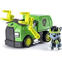 Paw Patrol Mission Paw Vehicle: Rocky's Recycling Truck