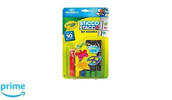 Crayola 74-7093-E-000 - Gelsticker Designer, Nachfüllpackung: Amazon ...