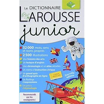 Larousse dictionnaire junior