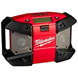 Milwaukee 4933416365 C 12 JSR/O-Version, Stereo/Radio da cantiere a batteria