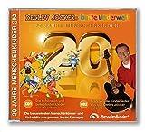 20 Jahre Menschenkinder: CD 1 Die schönsten und beliebtesten Lieder aus 20 Jahren. CD 2 Traditionelle Kinderlieder neu von Detlev Jöcker aufgenommen. ... und JöckerHits von gestern, heute & morgen