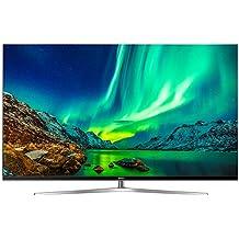 "Hisense H65NU8700 televisor 65"" ULED 4K Ultra HD Premium modelo 2017, Marco metal color plata"