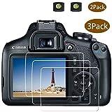 EOS 2000D 1300D Lot de 2 Films protecteurs d'écran pour Appareil Photo Reflex...