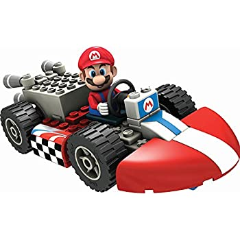 K'Nex - T71935 - Maquette - Figurine - Kart Building Set - Mario Kart Wii and Standard - Mario