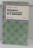 Image de Dictionnaire des auteurs et des thèmes de la philosophie