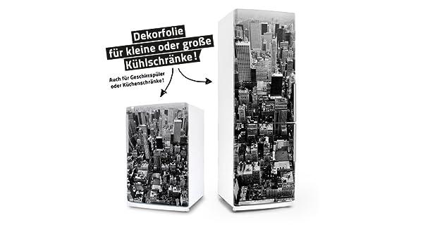 Kühlschrank Dekorfolie : Kühlschrank geschirrspüler aufkleber new york dekor