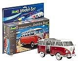 Revell 67399 14 Spielzeug Modellbausatz VW T1 Samba Bus im