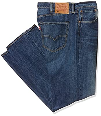 Mens Levis 501 2294 Straight Leg Button Fly Indigo Path Strong Jeans