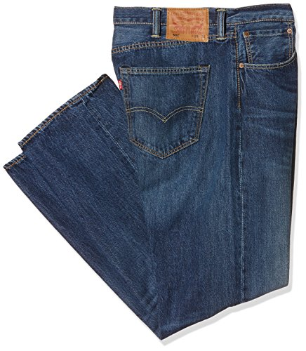 Levi's Herren Jeans 501 Original Straight Fit Sdw, Blau (Indigo Path Strong 2294), W38/L34 Straight Leg Cord