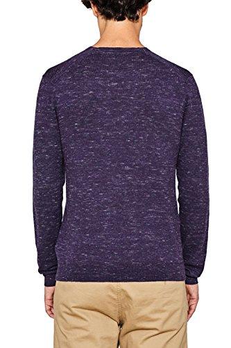 ESPRIT Herren Pullover Violett (Dark Purple 500)