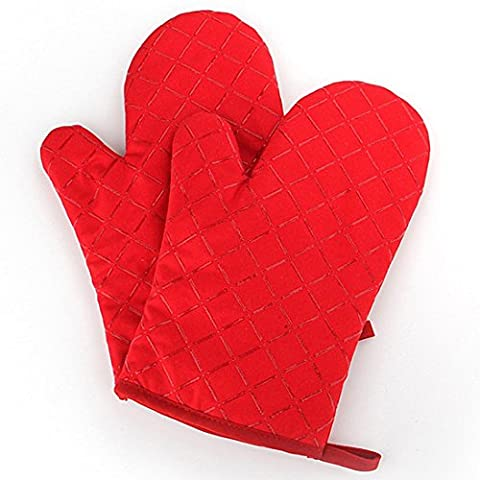 Silicone Oven Mitts Grill Gloves Heat Resistant