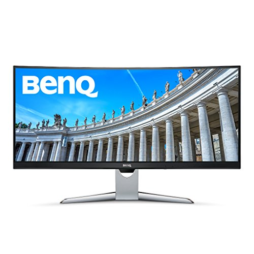 BenQ EX3501R 35-inch Widescreen HDR Curved Video Enjoyment Monitor (3440 x 1440, 4ms, 2 x HDMI, 4K)