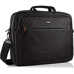 """AmazonBasics Sacoche pour ordinateur portable HP 17,3"""" (44 cm) noire, 1 pièce"""