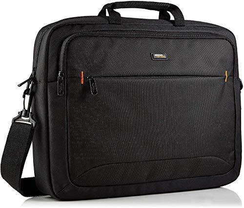 AmazonBasics HP-Laptop-Tasche, für Laptops bis zu 17,3 Zoll (44 cm), Schwarz, 1 Stück
