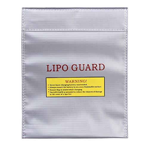 Housse de Protection Sac Sécuritaire Charge RC Lipo Batterie Pochette Ignifugé - 29 X 23cm