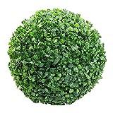 Bogeger Boule de Plantes artificielles en Plastique, Vert, 30 cm