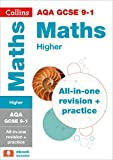 GCSE Maths Grade 9-1 AQA Higher Complete Practice and Revision Guide with free online Q&A flashcard download (Collins GCSE 9-1 Revision)