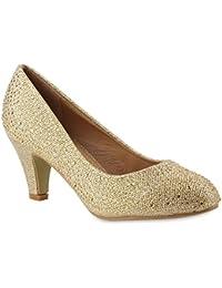 Suchergebnis auf für: abendschuhe gold Schuhe