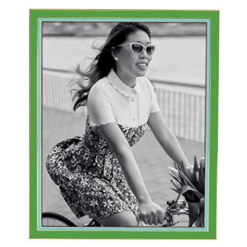 Lenox Kate Spade New York Bilderrahmen, für 20,3 x 25,4 cm, Grün/Türkis Kate Spade 10 Zoll