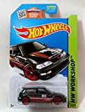 Hot Wheels, 2015 HW Workshop, '90 Honda Civic EF [Black] Die-Cast Vehicle #197/250 by MATTEL