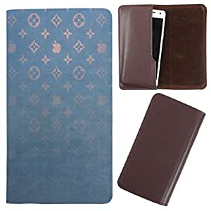 DooDa - For Karbonn A5i PU Leather Designer Fashionable Fancy Case Cover Pouch With Smooth Inner Velvet