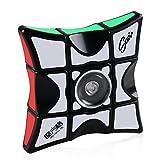 Coogam Fidget Puzzle Cube, 1x3x3 Floppy Cube Spinner Anti-ansiedad Fidget Toys para niños