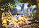 mural - Snow White im Wald by Disney