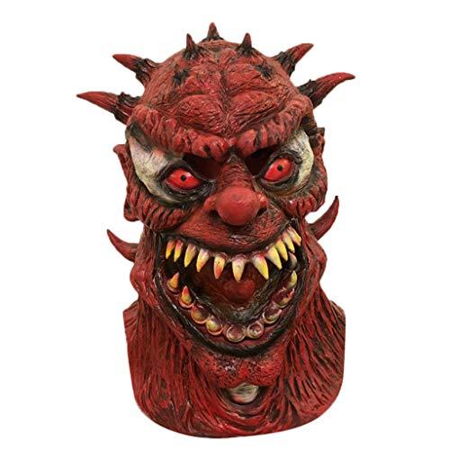 Kostüm Scary Streiche - Myspace 2019 Neueste Dekoration für Halloween Cosplay Scary Mask Kostüm für Erwachsene Party Dekoration Requisiten