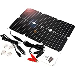 Batterie Portable ALLPOWERS Chargeur Solaire 18V, 12V, 18W.
