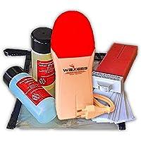 Wachsgerät für Haarentfernung Gesicht mit Wachspatrone Rosa mini Roll On mini Waxing Strips