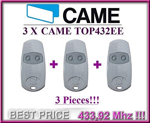 3-x-came-top432ee-2-canali-telecommande-radio-43392-mhz-3-pieces-de-haute-qualite-dorigine-came-tele