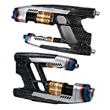 K-Y YK Guardians of The Galaxy Star Lord Pistol Peter Quill Film Props Cosplay Accessories Halloween Equipment (Pair) (Pistol)