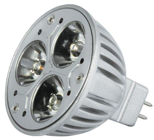 Transmedia LP1-33SQL Power Spot LED 12 V 3,5 W GU5,3 Blanc Chaud