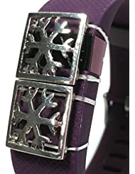 Fitness banda Bling accesorio para Fitbit Charge HR surge, Fitbit Flex pulsera, A (2 PARTS), bling