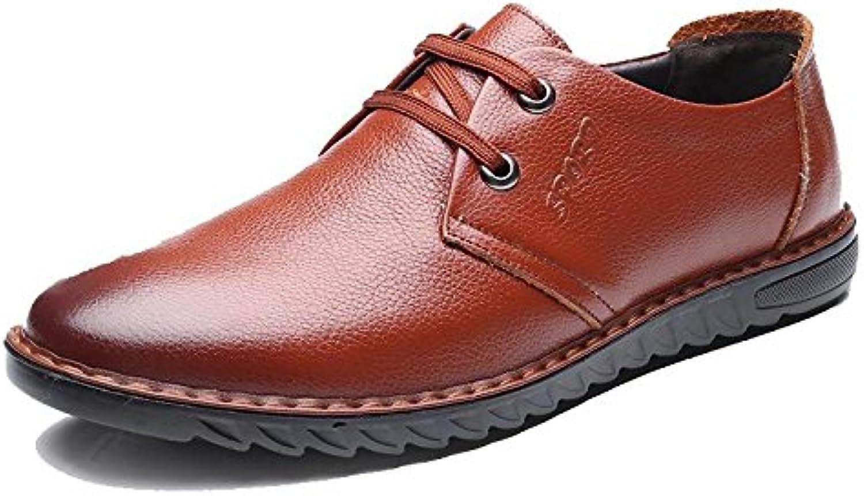 YXLONG Sommer Neue Männer Schuhe Wildleder Täglichen Freizeitschuhe Herren Leder weisshen Boden Niedrige Schuhe
