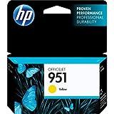 HP 951 Gelb Original Druckerpatrone für HP Officejet Pro 276dw, 8600, 8610, 8620, 251dw, 8100