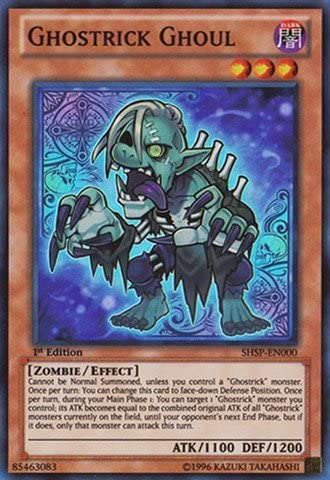 Yu-Gi-Oh! - Ghostrick Ghoul (SHSP-EN000) - Shadow Specters - Unlimited Unlimited Unlimited Edition - Super Rare by Yu-Gi-Oh! 86fb34