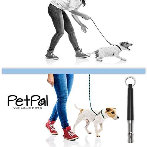 Hundepfeife von PetPäl – Premium Pfeife für Hunde Zubehör | #1 Bestseller für Einfaches Hundetraining & Welpen-Erziehung +Gratis Trainingstipps | Ultraschall Hundepfeifen mit Hochfrequenz Inklusive Umhänge Band | Bellen Stoppen & Kontrolle erlangen | Dog Whistle | Frequenz individuell einstellbar für Kommandos & Kunststücke - 3