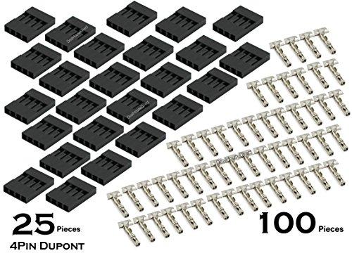 25-x-4-pin-dupont-254-mm-pitch-4p-dupont-jumper-cable-de-alambre-de-vivienda-con-100-x-libre-termina