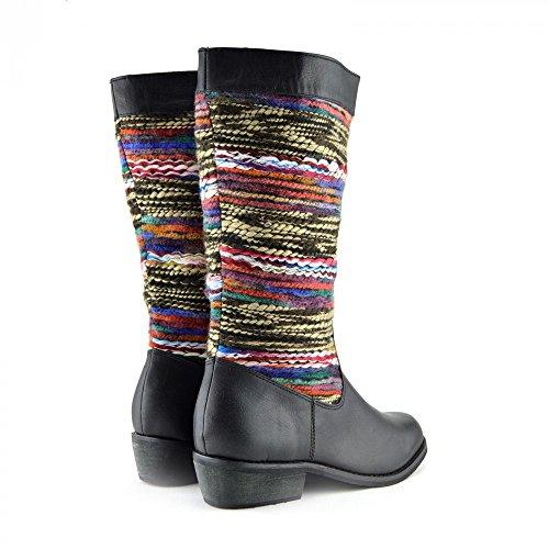 Kick Footwear, Scarpe stringate donna Nero (nero)