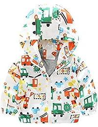 ARAUS Chaqueta De Invierno Para Niño Acolchado Abrigo Con Capucha Estampado Cálido Ropa Infantil Coat Outerwear