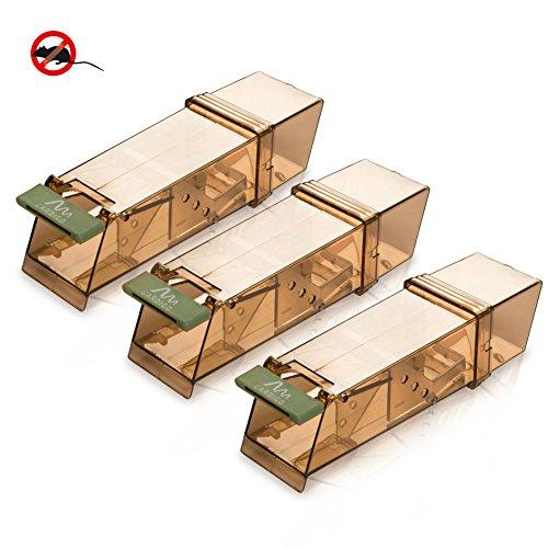 gardigo maus lebendfalle 3er set m use fangen ohne problem. Black Bedroom Furniture Sets. Home Design Ideas