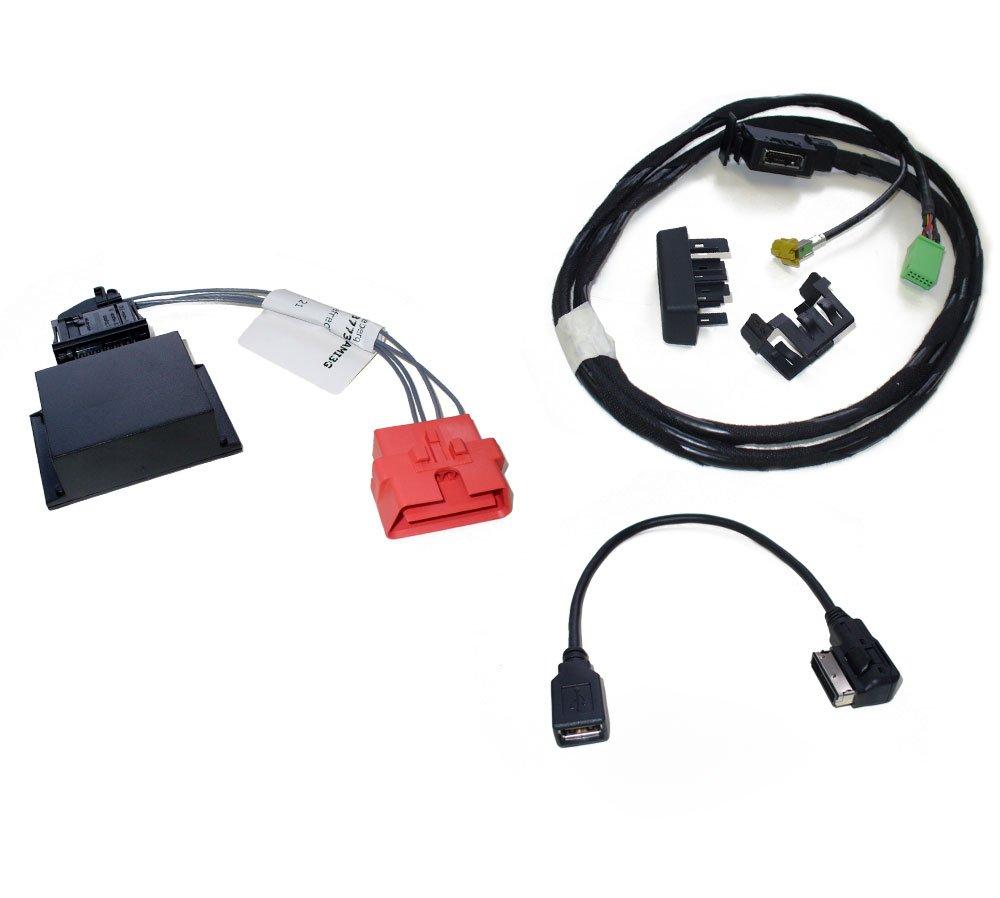 Kufatec-36739-2-Nachrst-Set-Music-Interface-AMI-fr-Audi-A4-8K-A5-8T-A6-4F-A8-4E-Q5-8R-Q7-4L-mit-MMI-3G